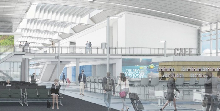 new charlotte airport terminal