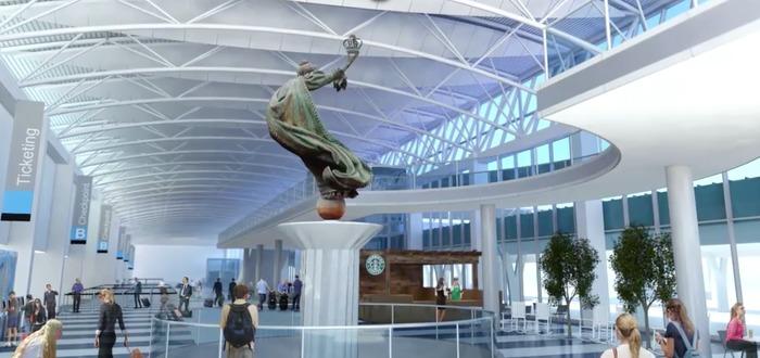 new terminal charlotte