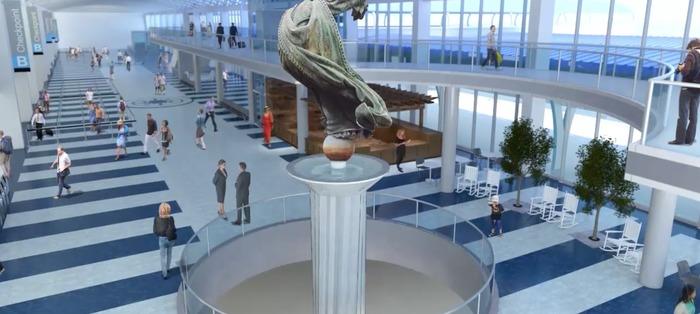 new terminal charlotte airport nc