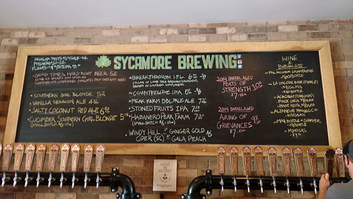 Sycamore-April-14-tap-list