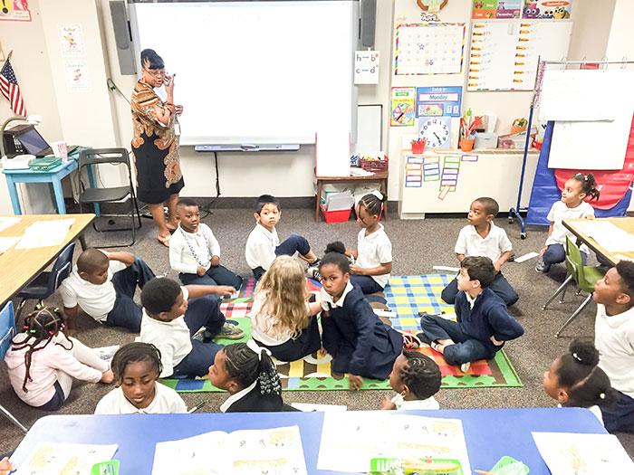 Brookstone-School classroom