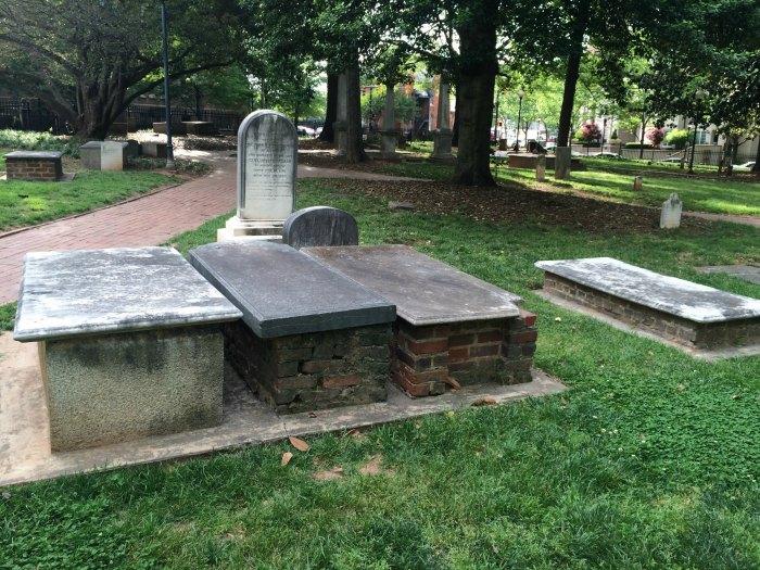 settlers' cemetery charlotte