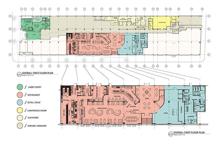Iveys-Boutique-Hotel layout