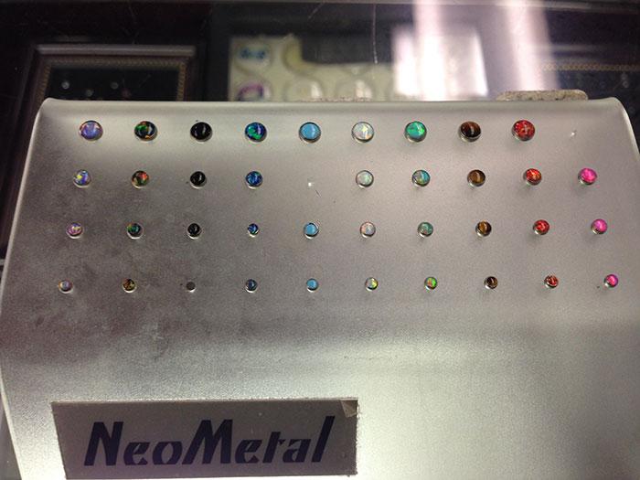 NeoMetal earrings