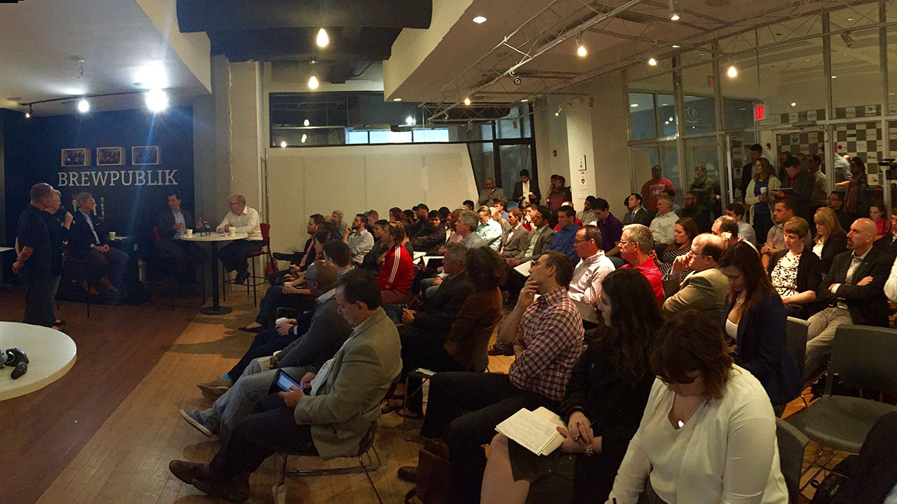 Meet the 4 startups who gave their elevator speech at April's PitchBreakfast