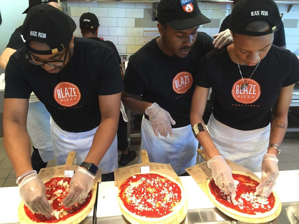 All the details on Blaze Pizza, opening today in South End