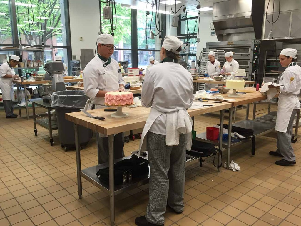 Johnson & Wales had a wedding cake competition on Friday. See what their students created