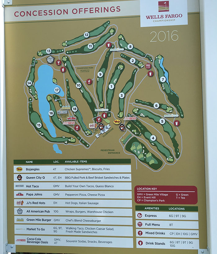 concession-stand-map-at-wells-fargo-golf-championship