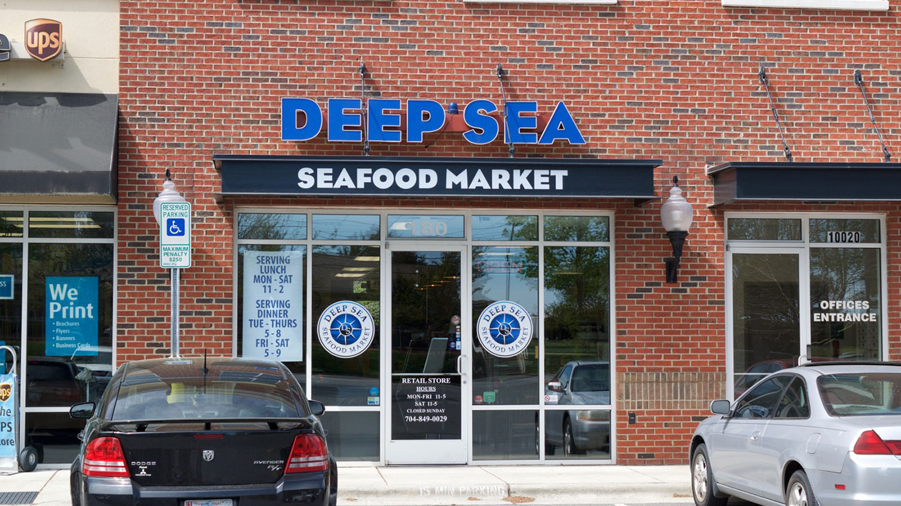 Deep sea market is a true catch even 200 miles from the ocean