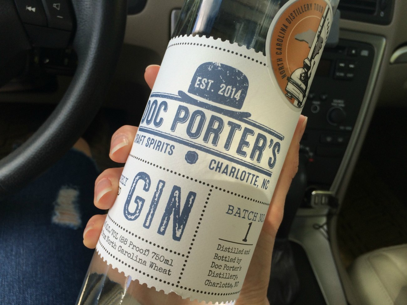 Look for Doc Porter's new grain-to-glass gin in stores next week