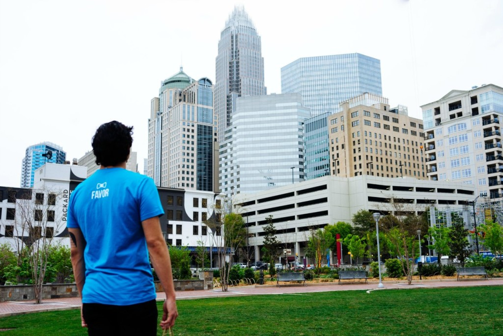 "Favor, a $5 ""anything"" delivery service, is now available in Charlotte. Here's the deal"