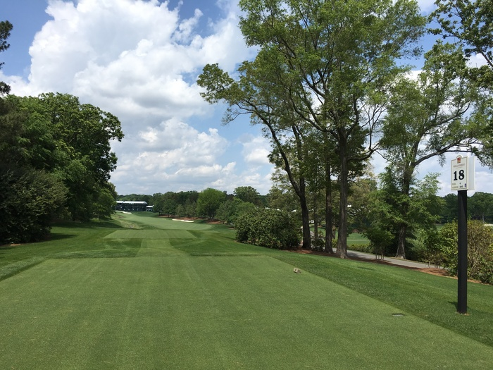 hole 18 quail hollow golf club