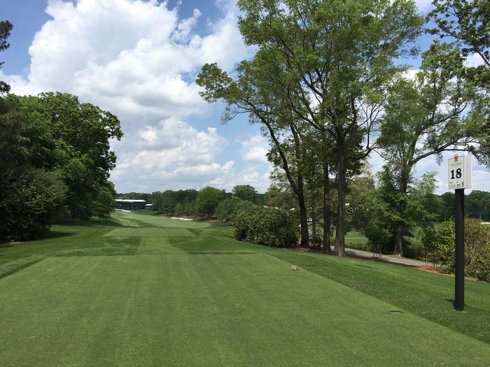 hole 18 quail hollow golf club