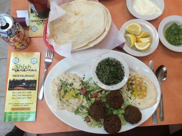 la shish kabob falafel