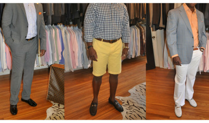 3 men's fashion looks for spring – all on consignment at...