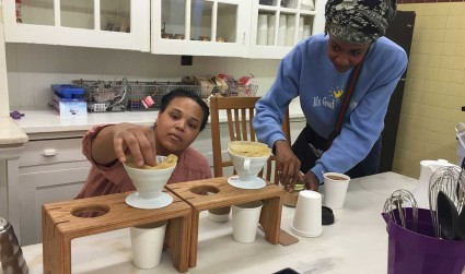 This new nonprofit coffeehouse will do well and do good in...