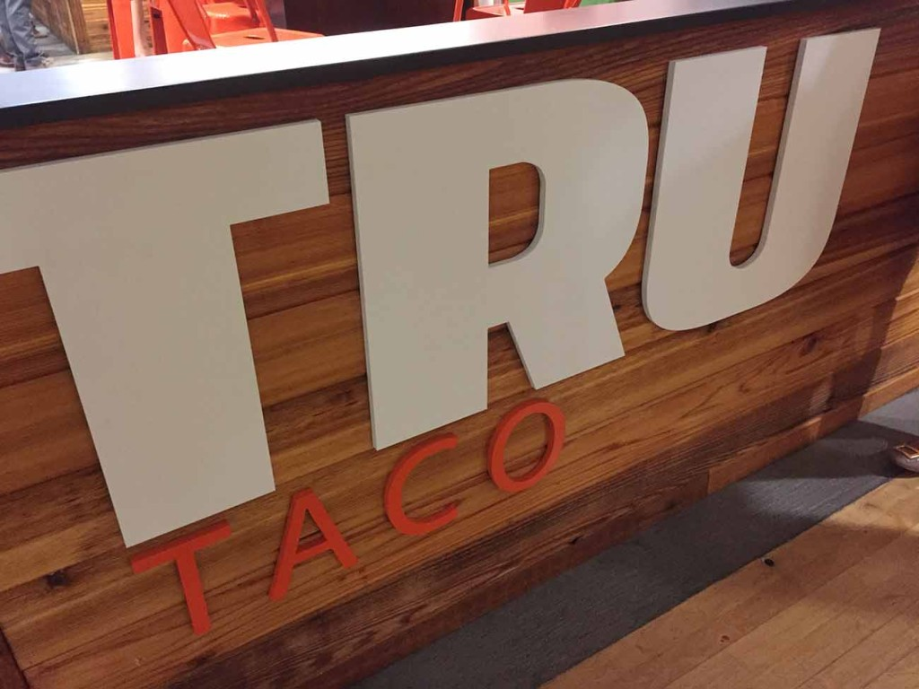 Tru Taco opened yesterday in Overstreet Mall. Here's how to experience it