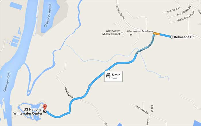 Its hard to Uber to the Whitewater Center during big events