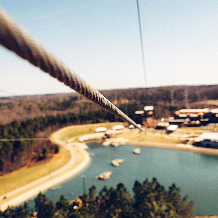 USNWC zip line