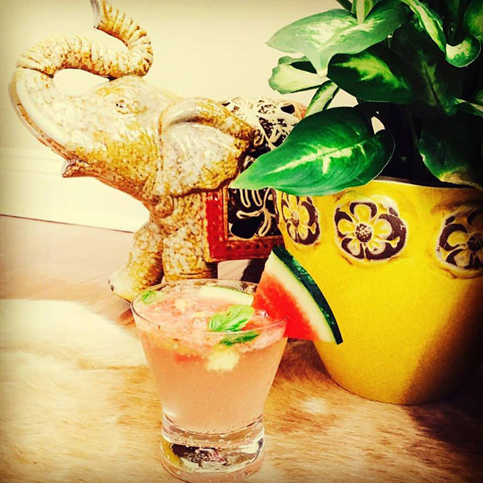 Watermelon Ginger Margarita