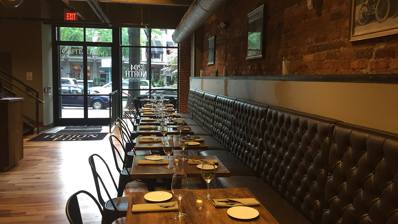 204 North is now open and we sampled the menu. See the stars of the show and honorable mentions