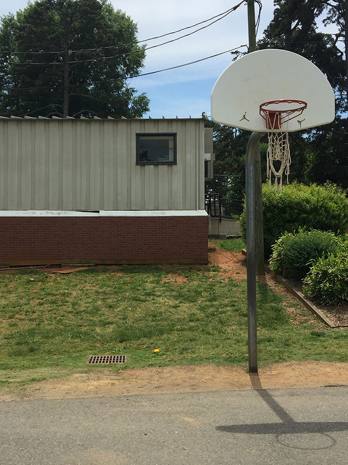 Collingswood basketball goal