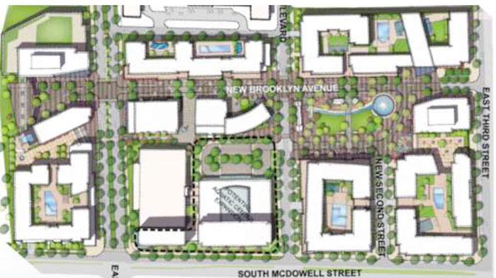 Citisculpt Brooklyn Village siteplan