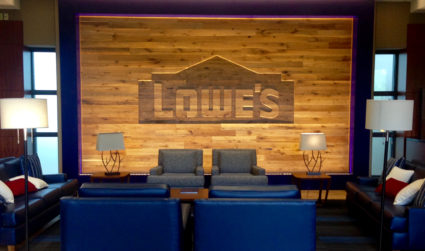 You're going to want to check out the Lowe's campus –...