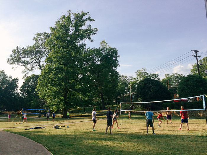 Independence Park Volleyball