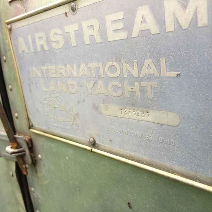 Airstream sign