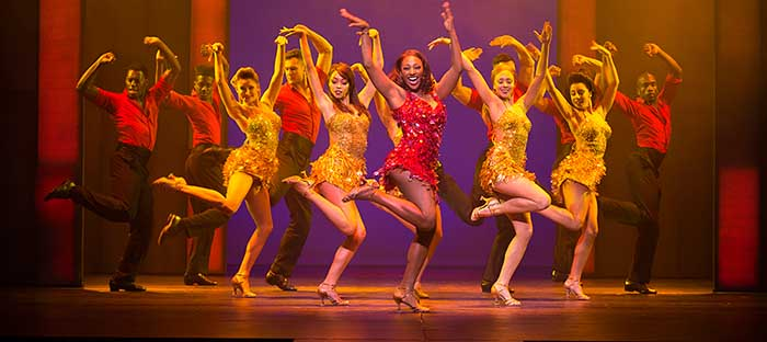 The Bodyguard, coming to Belk Theater in March 2017. Photo by Paul Coltas