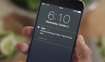 Uber's new Trip Tracker can give you peace of mind while your loved ones ride