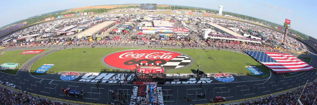 Nascar win two tickets to the coca cola 600 ended for Events at charlotte motor speedway