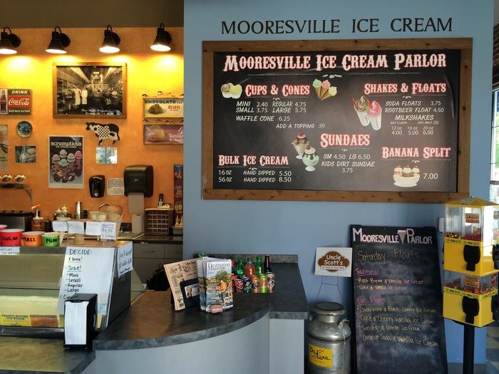 mooresville ice cream