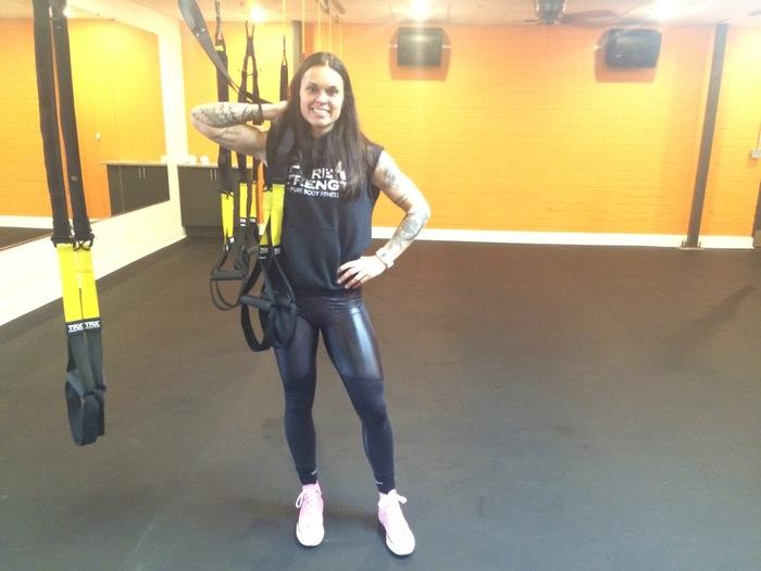 Pure Body TRX instructor Tara Bedard