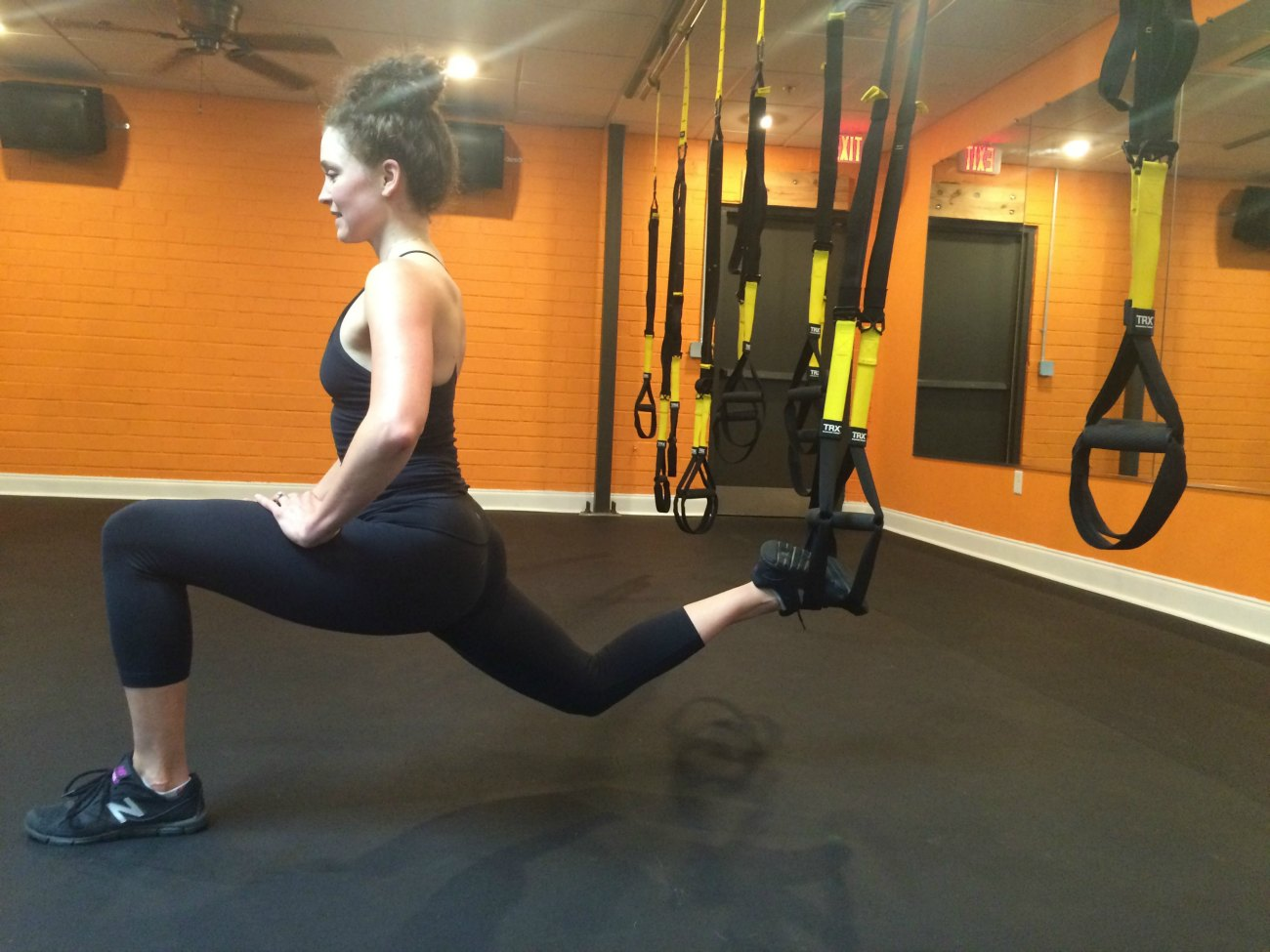 So you want to work out like a Navy SEAL? TRX suspension training is for you
