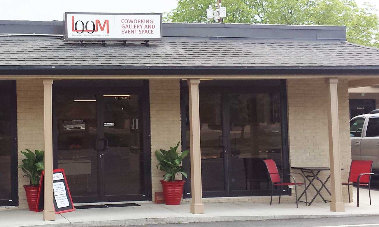 FIRST LOOK: Fort Mill's first coworking space, LOOM, is set to open
