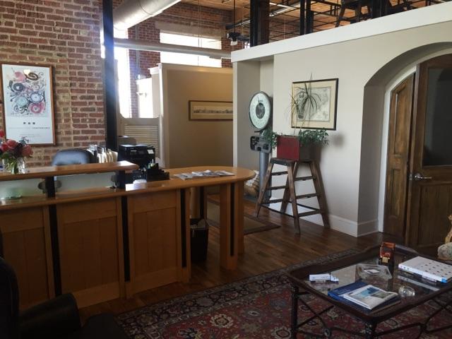whiteside office lobby