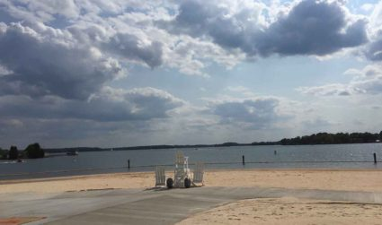I went to Ramsey Park Beach and while it's no Margaritaville,...