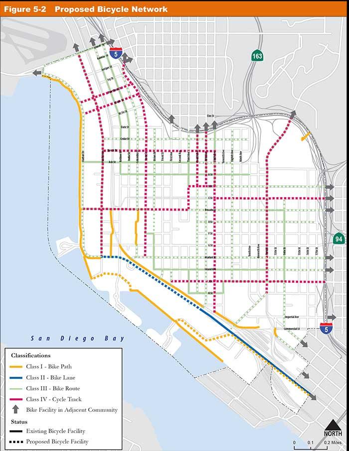 Image via the Downtown San Diego Mobility Plan
