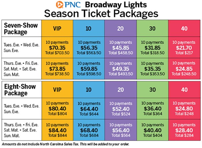 Captivating Season Ticket Pricing Nice Design