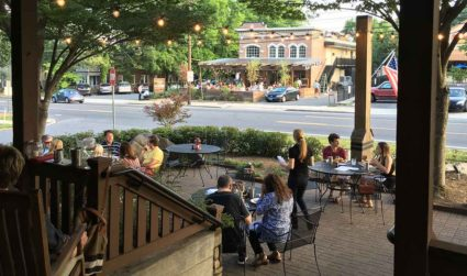 Craving multiple patios with this 75 degree weather? Top 5 places...