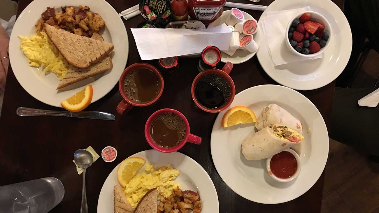 Top 5 breakfast spots in Charlotte according to Agenda Members