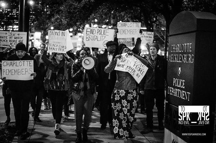 Alvin-Jacobs-CLT-police-precinct-protest