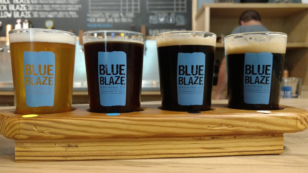 Charlotte beer comes full circle as Blue Blaze opens to the public