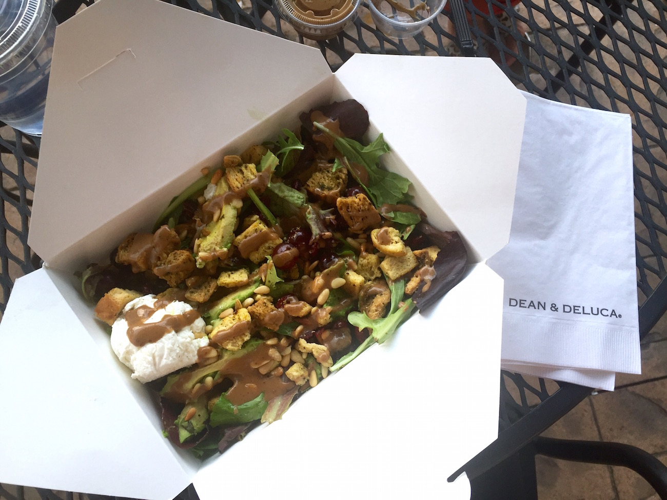 How to get a $5 salad at Dean & Deluca