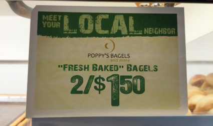 How to get Poppy's bagels for half the price