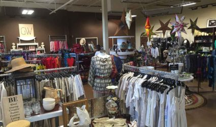 Goodwill opened another specialty shop today – and this time, it's permanent