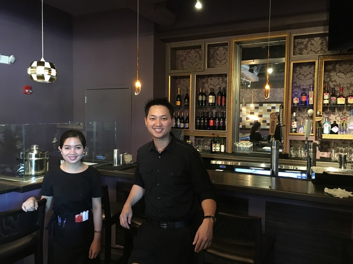 staff at hibiscus thai charlotte
