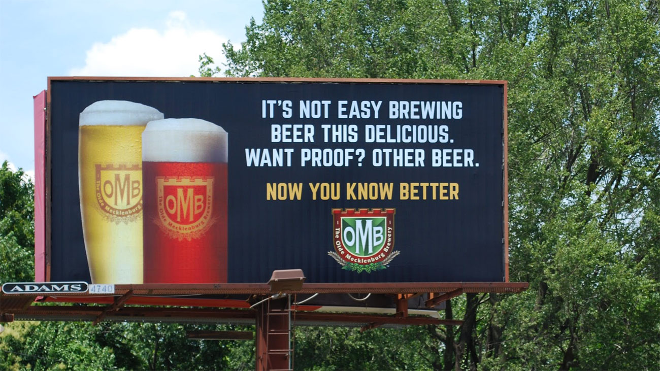 Olde Mecklenburg Brewery's new marketing campaign targets bad beer